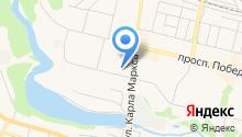 Каменск-Уральский районный узел связи на карте