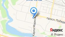 Виртуальный Каменск на карте