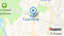 Веселок на карте