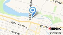 Северный дом на карте