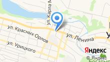 Город милосердия на карте