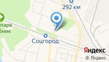 Закусочная на ул. Олега Кошевого на карте