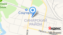 Детская художественная школа №2 им. В.М. Седова на карте