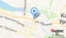 Долька на карте