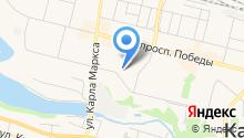 Отдел контроля по Южному управленческому округу на карте