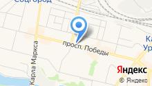 Норис на карте