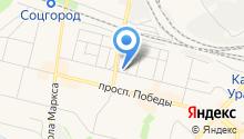 Каменский кладезь на карте