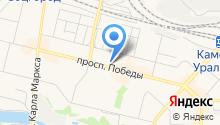 Интернет магазин «МАТРАС – КРОВАТЬ» в Каменске-Уральском - матрасы ортопедические на карте