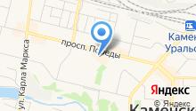 КомоК на карте