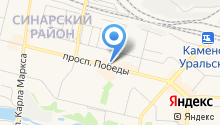 Информационный Каменск на карте