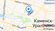 Русская баня на карте
