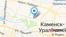 Баня Русская на карте