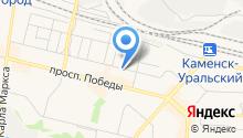 Каменск-Уральский на карте