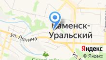 Комитет по управлению имуществом г. Каменска-Уральского на карте