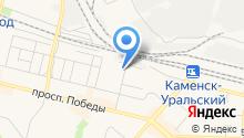 Уральский центр содействия и сертификации на карте