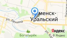 Каменск-Уральский лингвистический колледж на карте