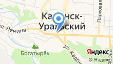 Каменск-Уральская общественная организация ветеранов войны, труда, государственной службы, пенсионеров на карте