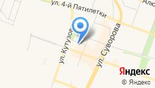Кедровая бочка на карте