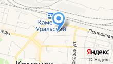 Линейный ОВД ст. Каменск-Уральский на карте