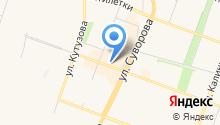 Ломбард на Каменской на карте