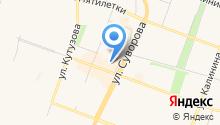 Витас на карте
