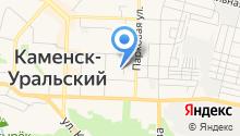 Каменск-Уральский радиотехнический техникум на карте