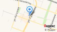 GRACE на карте