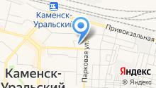 Городское травматологическое отделение на карте