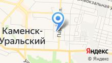 Федеральная кадастровая палата Росреестра по Свердловской области, ФГБУ на карте