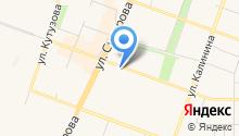 Магазин ювелирной бижутерии на карте