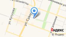 SH на карте