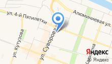 Мегадент на карте