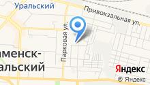 Каменск-Уральский участок инкассации на карте