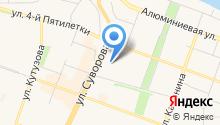 Артемон-Визаж на карте