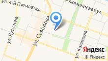 Мальцев С.А. на карте