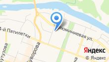 Банкомат, Уралтрансбанк на карте