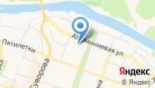 Городской компьютерный центр на карте