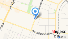 Исетский на карте