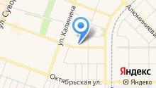 Авангард+ на карте