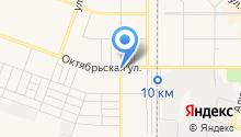 Алексеевский на карте