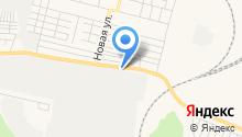 Колчеданский привоз на карте