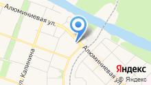 Детская городская поликлиника на карте