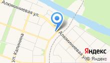 Каменск-Уральский центр подготовки кадров, НОЧУ на карте