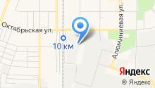 Красногорское на карте