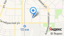 Кедрус на карте