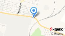 Восточная на карте
