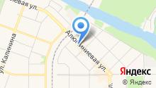 OkoVista на карте