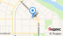 Красная горка, ТСЖ на карте