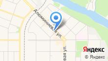 Катрин на карте