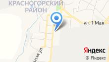 Красногорская специальная коррекционная общеобразовательная школа-интернат на карте